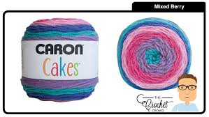 caron cakes mixed berry the crochet crowd