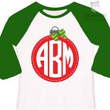 personalized christmas for kids personalized kids shirt ornament monogram custom christmas