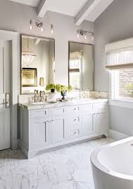 Bathroom Vanity Two Sinks Attractive Bathroom Mirrors For Double Vanity And Custom Double