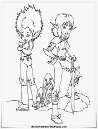 arthur and the minimoys coloring pages realistic coloring pages