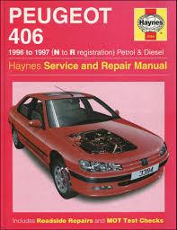 haynes owners workshop car manual peugeot 406 petrol diesel