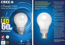 Cree Led Light Fixtures Cree Gets Smart With 15 Connected Led Bulb Techspot