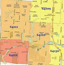 okc zip code map kc zip code map zip code map