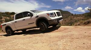 nissan titan long travel video nissan shows towing terrain testing of titan xd in arizona