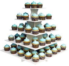 5 tier cupcake stand 5 tier square cupcake tower stand reusable and adjustable