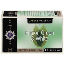 stash tea fusion green white tea bags from schnucks instacart