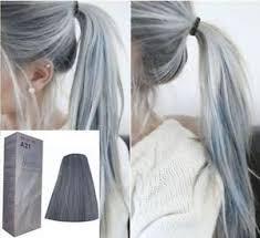 silver hair berina a21 permanent color hair dye light grey silver