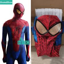 Halloween Spiderman Costume Aliexpress Buy Free Shipping Dhl Amazing Spiderman