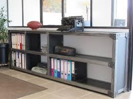 bureau industriel pas cher armoire style industriel pas cher size of