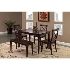 international concepts unfinished wood mission dining chair set