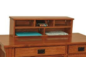 Desk With Top Shelf Arts And Crafts Writing Desk From Dutchcrafters Amish Furniture