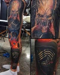 leg sleeve tattoo space best tattoo ideas gallery