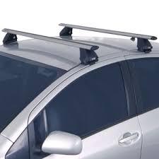 roof rack for toyota prius rhino rack toyota prius c 2012 2014 2500 series silver aero bar