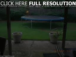 cool trampoline small backyard pictures design inspiration amys