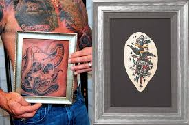 service to preserve tattooed skin after death launched shocking