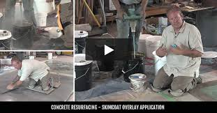 How To Fix Cracks In Concrete Patio by Resurfacing Concrete Resurfacing With Concrete Coatings The