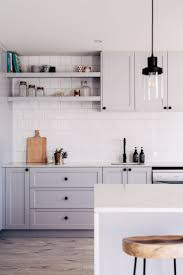 Kitchen Cabinets Black And White Best 20 Light Grey Kitchens Ideas On Pinterest Grey Cabinets