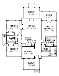 The Red Cottage Floor Plans by Allison Ramsey Architects The Red Bluff House Plan C0225 Print Out