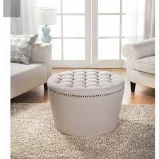 circle ottoman with storage storage decorations