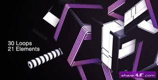 vj loops motion graphics videohive free after effects
