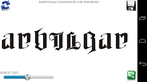 ambigram generator android apps on google play