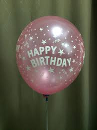 helium balloon delivery in selangor 12in 4s happy birthday pink balloondelivery my personalized