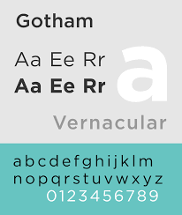 gotham typeface wikipedia