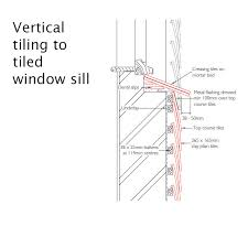 Window Sill Detail Cad Cad Drawings Dreadnought Tiles