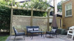 Span Tables For Pergolas by Special Order