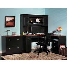 Office Hutch With Doors Desk Collections At Global Industrial