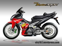 Modifikasi mobil dan motor design modifikasi new jupiter mx bergaya yamaha x1r vixy182s blog njmx 182