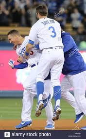 Barnes Los Angeles Los Angeles Ca Usa 9th May 2017 Los Angeles Dodgers Catcher