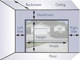 Garage Doors and Openers   The Home Depot Canada If you have restricted headroom  special hardware is available  Additional headroom is required for installation of an automatic garage door opener