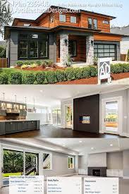 contemporary prairie style house plans plan 23694jd modern prairie house plan with tri level living
