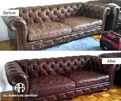 How To Fix Scratches On Leather Sofa Cat Scratched Leather Sofa Refinish Leather Recondition