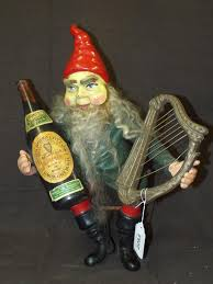 guinness stout advertising seated gnome