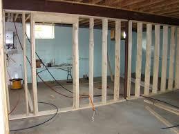 gorgeous frame basement walls best way to frame design ideas frame