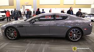 2015 aston martin rapide s exterior and interior walkaround