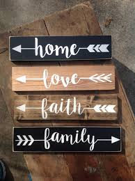 rustic wood arrow words pick one 15 each great for wedding