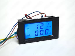 2 in 1 lcd voltmeter ammeter gauge dva 120 17 50 auberins