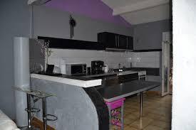 idee ouverture cuisine sur salon ouverture entre cuisine salon puis ouverture porte fenetre au fond