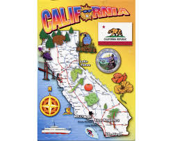 California State Map by Maps Of California State Collection Of Detailed Maps Of