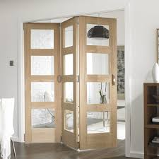 deluxe teak wood room divider partition features glass panel