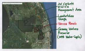 Palm Beach State Map Vavrus Ranch U0027s Future Will Have A Regional Impact In Florida