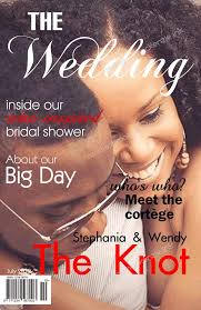 magazine wedding programs wedding magazine program