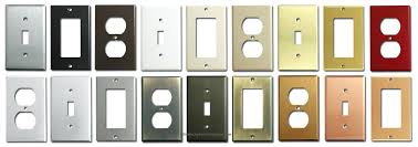 modern light switch covers contemporary light switches modern ideas decorative wall plate