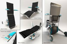 sphere chair all in one wheelchairuniversal design style