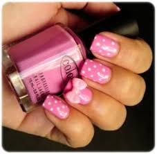 3d nail art love the design except for the bow nails