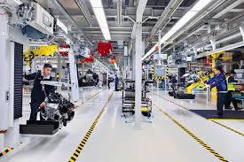 bmw factory bmw brilliance automotive opens new engine plant with light metal