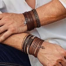 leather bracelets for men 5 bracelets for men and 5 bracelet not for men thestylecity